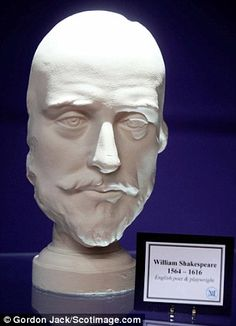 Shakespeare's death mask