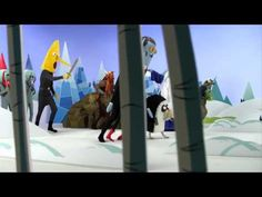 Adventure Time Live Action Promo for Season 4 Adventure Time Gif, Life Is An Adventure, U Tube, What Time Is, Best Commercials, Downton Abbey, Live Action, Cartoon Network, Real Life