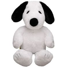 SNOOPY! Gotta love this handsome fellow from Build-a-Bear! I LOVE that Build-a-Bear includes classic characters :)  #EASTER  #BUILDABEAR