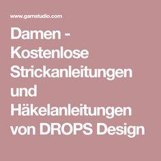 Damen - Kostenlose Strickanleitungen und Häkelanleitungen von DROPS Design
