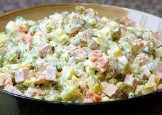 Ρώσικη σαλάτα όπως την φτιάχνουν οι Πόντιες νοικοκυρές