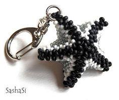 Beaded Bead   TUTORIAL Sea Star Starfish