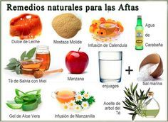 remedios anti aftas