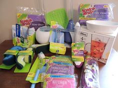 Scotch-Brite Cleaning Prize Pack Giveaway