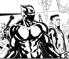 Black Panther by David Marquez
