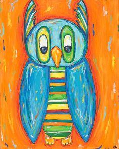 'Striped Owl' by Jaime Lyon