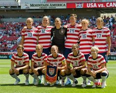The #USA women's #soccer team