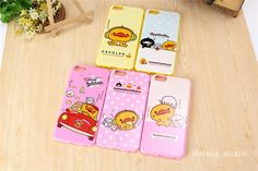 Cute Cartoon Yellow Duck Cases Lovely Soft TPU Unbreak Phone Cases For Iphone 6 Iphone 6 Plus Protective Back Cover 5 Styles New Design Online with $2.51/Piece on Sibling_2's Store | #dhgatePin