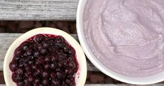 Coconut Blueberry Pudding DF, SCD, GAPS-I'm going to make this into a smoothie! Raw Desserts, Paleo Dessert, Gluten Free Desserts, Healthy Desserts, Just Desserts, Dessert Recipes, Healthy Recipes, Coconut Butter Recipes, Coconut Pudding