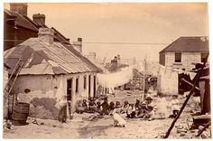 The Rocks,Sydney in 1875.