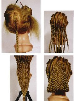 Ancient Roman Hairstyles IV