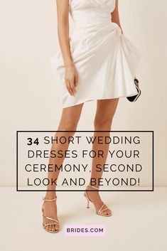 Bridal mini dresses are a statement-making trend that's here to stay. So we've researched the best short wedding dresses for the bride who dares to bare.