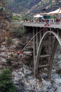 """Sounds fun! Another person wrote """"Hike the Bridge to Nowhere. This is one of my favorite hikes! You can bungee jump at the bridge or just watch in awe.."""