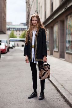 Click through to view more street style..