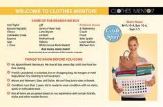Upscale Resale!!! Greatest new store~! Tips to sell your clothes to us!