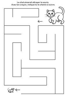 Preschool Activities At Home, Free Kindergarten Worksheets, Preschool Math, Preschool Worksheets, Learning Activities, Teaching Kids, Kids Learning, Mazes For Kids Printable, Abacus Math