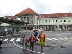 Villach, Austria - East railway station-spent a fair amount of time here, going back and forth to Spittal an Der Drau.