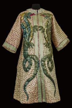 Costume de George Pinder (1894-1941), 1ère moitié du XXe siècle, satin brodé, sequins. Coll. Musée du cirque Alain Frère. © CNCS / Photo Pascal François