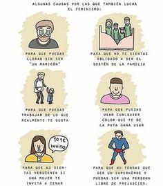subjunctive, para que, gender, feminism Classroom Memes, Feminist Quotes, Beautiful Stories, Decir No, Me Quotes, Funny Memes, Inspirational Quotes, Lettering, Feelings