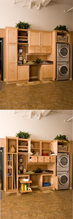 Look at everything that can fit into this Utility Room! What do you think?