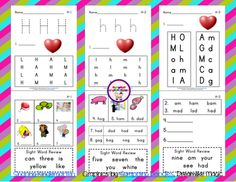 Letter Hh Phonics Sheet Freebie from Sharing Kindergarten