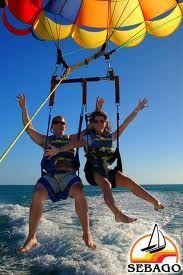 to go parasailing
