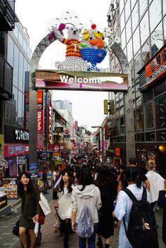 Takeshita Street - Tokyo Kyoto, Takeshita Street, Photos Voyages, Jolie Photo, Blog Voyage, Road Trip, Places To Visit, Street View, Places