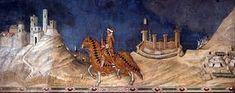 Guidoriccio de fogliano. Simone Martini