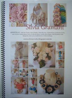 how to make necklace Aphrodite, handout teaching crochet, teaching crochet, scarf, collar, how to make maxi necklace, how to make maxi neckl...