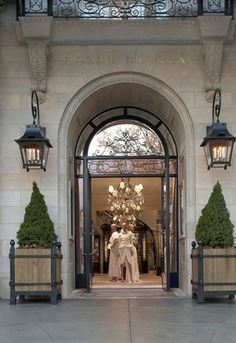 Perfect sized lanterns on the Ralph Lauren store