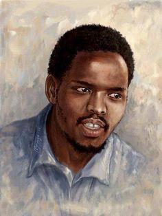 Steve Biko Steve Biko, Black Leaders, Black Artwork, Famous Words, Anti Racism, Freedom Fighters, African History, Revolutionaries, Black History