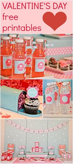 Valentine's Day Free Printables <3 www.weheartparties.com