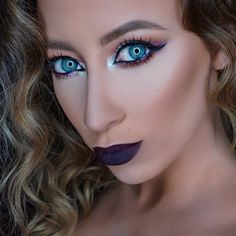 Vampy lips for Fall Plum Lips, Bold Lips, Fall Lights, Coastal Scents, Ardell Lashes, Fall Makeup, Bh Cosmetics, Halloween Make Up, Beauty Makeup