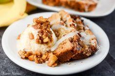Apple Pecan Cream Cheese Cake -  Michele
