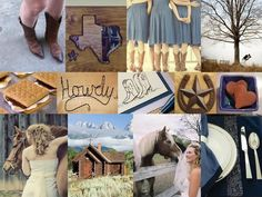 The Perfect Palette: {Howdy Partner}: Shades of Blue & Brown