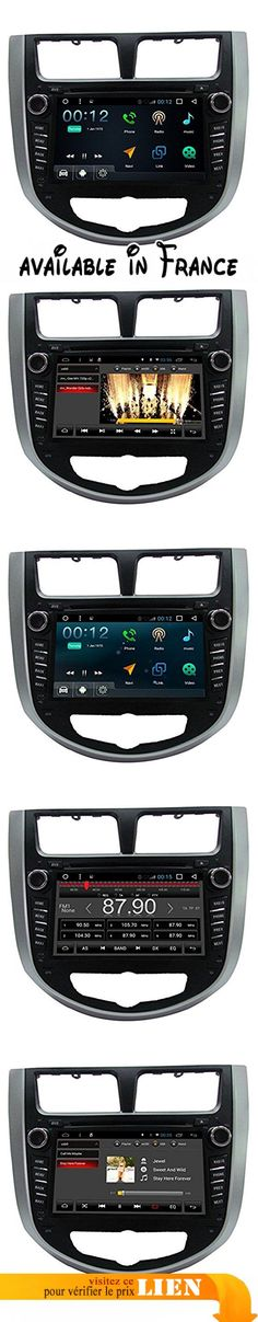 Generic 7inch 1024* 600voiture DVD GPS Navigation Android 4.4.4for Hyundai Verna 201020112012Double 2Din Car DVD Player WiFi Bluetooth Radio Processeur r16A91.6GHz DDR31G Capacitive Touch Screen 3G Stereo Audio phonebook RDS aux voiture DVR Mirror Link 16GB Quad Core. 1.OS: Android 4.4.4system. 2.Main processeur: R16A9, Quad Core. 3.Main Frenqency: 1.6GHz. 4.Mémoire vive: DDR31G 5.Nand Flash: 16GB 6.Capacitive Touch