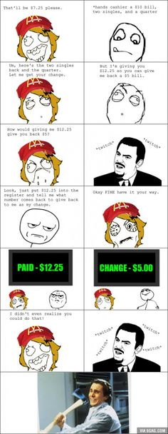Math Genius by diediebydie - A Member of the Internet's Largest Humor Community Derp Comics, Rage Comics, Funny Comics, Rage Faces, Math Genius, Stupid Funny, Funny Stuff, Funny Things, Random Stuff