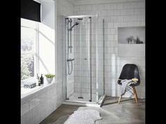 700 x 760 Corner Entry Shower Enclosure – The Functionality & Aesthetics Combined Bathroom Suites Uk, Cloakroom Suites, Royal Bathroom, Toilet Suites, Bifold Shower Door, Shower Doors, Straight Baths, Quadrant Shower Enclosures, Shower Trays