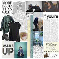 embarassing bravery. by happyasianxx on Polyvore featuring Prada, Mancienne, Crate and Barrel, Karl Lagerfeld, Wassup and marbleheart