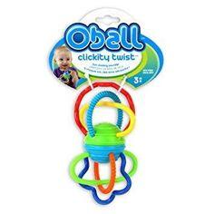 Oball - Anneau dentaire avec cliquetis 3m+ - Castello   Jeux et Jouets