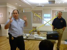 What a cool event! Irvington Library in NY hosted a mock crime scene for the library's teen and tween patrons.