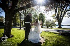 Wedding couple, swing, Tulfarris Hotel and Golf Resort Ireland, Deryck Tormey, DT Photography