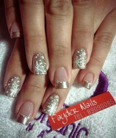 115 christmas nail art designs & ideas page 33 Pretty Nail Designs, Gel Nail Designs, Holiday Nails, Christmas Nails, Trendy Nails, Cute Nails, Christmas Nail Art Designs, Luxury Nails, Powder Nails