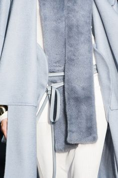 Beautiful powder blue and cream colours and fabrics by Tod'S Fall 2014