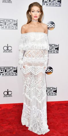 The Best Red Carpet Looks from the 2016 American Music Awards - Gigi Hadid from InStyle.com