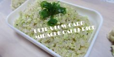 Miracle Cauliflower Rice Recipe (Ultra Low Carb)