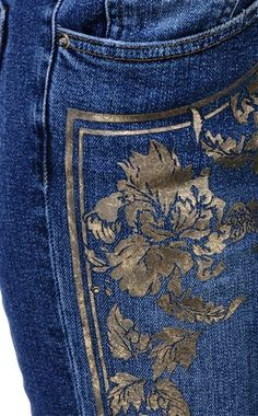 Jeans - ROBERTO CAVALLI - 99% Algodão, 1% Elastano