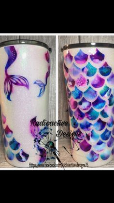 cute cups 50 how to decorate a mug Diy Tumblr, Tumblr Cup, Cute Kittens, Mermaid Cup, Mermaid Glitter, Glitter Cups, Glitter Tumblers, Glitter Balloons, Custom Cups
