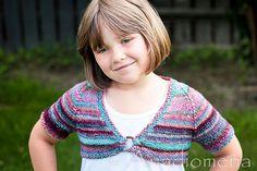 Queen Of The Waves pattern by Elena Nodel #knitting #bolero
