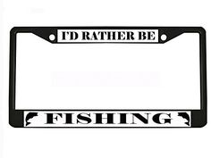 DON/'T SCARE ME I FROM MONTANA Chrome Heavy Duty License Plate Frame Tag Border